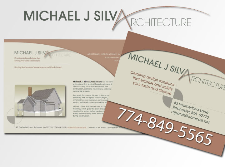 Logo and branding for architecture firm