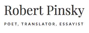 Robert Pinksy poet