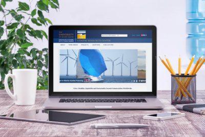 URI Coastal Resources Center website