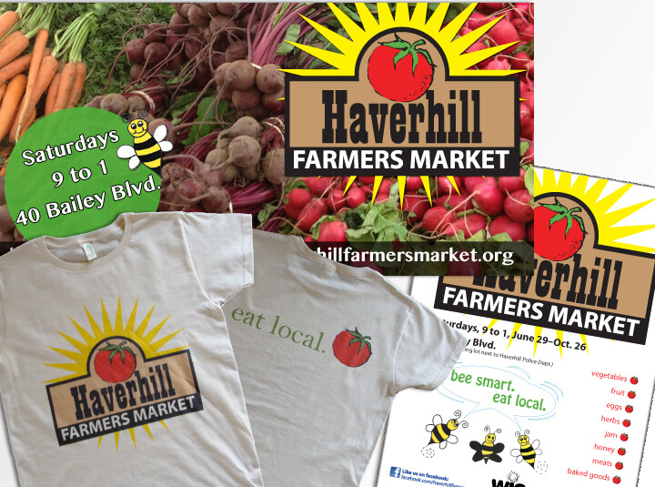 Promotional material for farmers' market