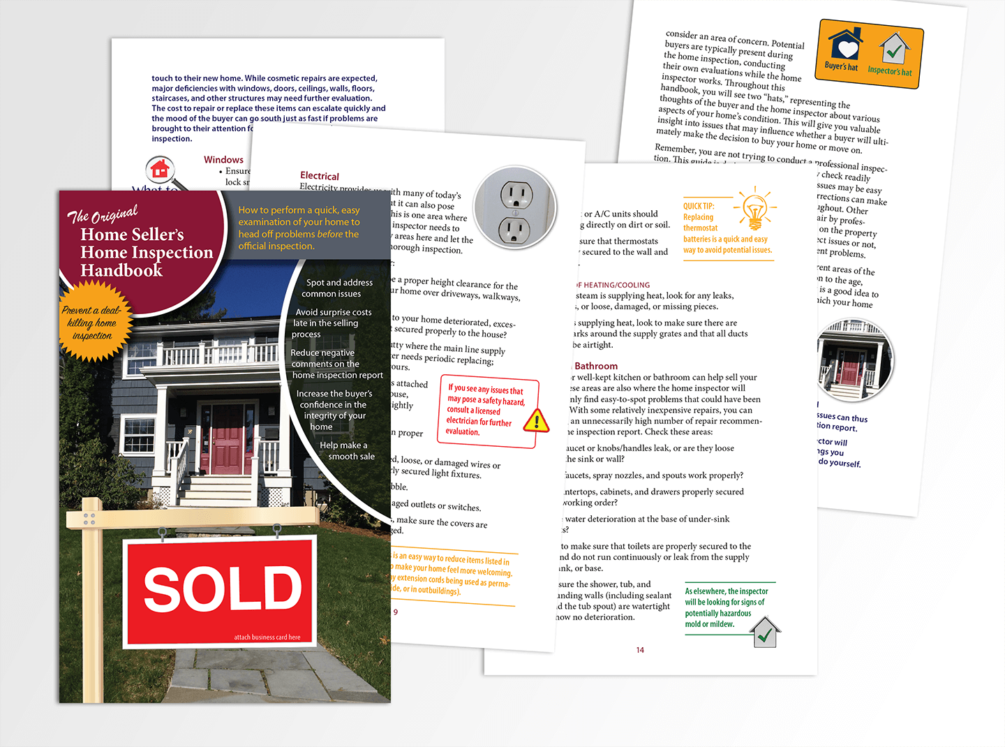 booklet for home inspection company