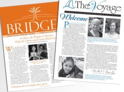 Newsletter for charter school