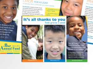 fundraising materials for charter school